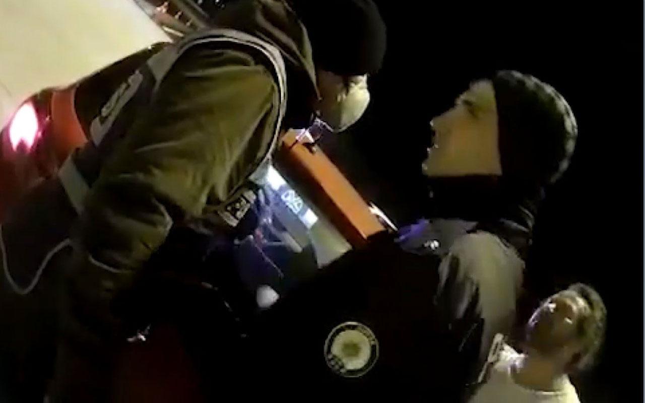 Konya'da yarbay olduğunu iddia eden şahıs polise ağza alınmayacak laflar etti