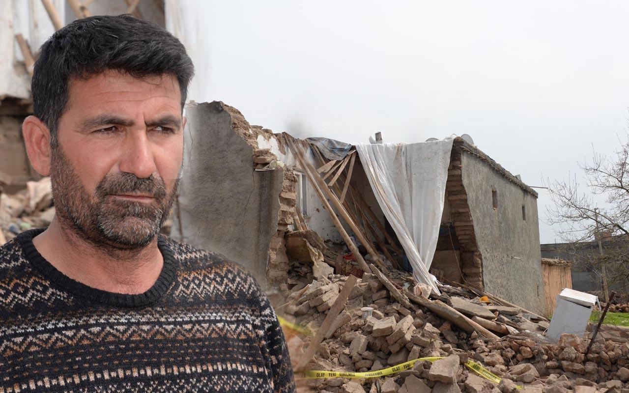 Diyarbakır'da çöken kerpiç evde kızını kaybetti babanın verdiği söz yürek sızlattı
