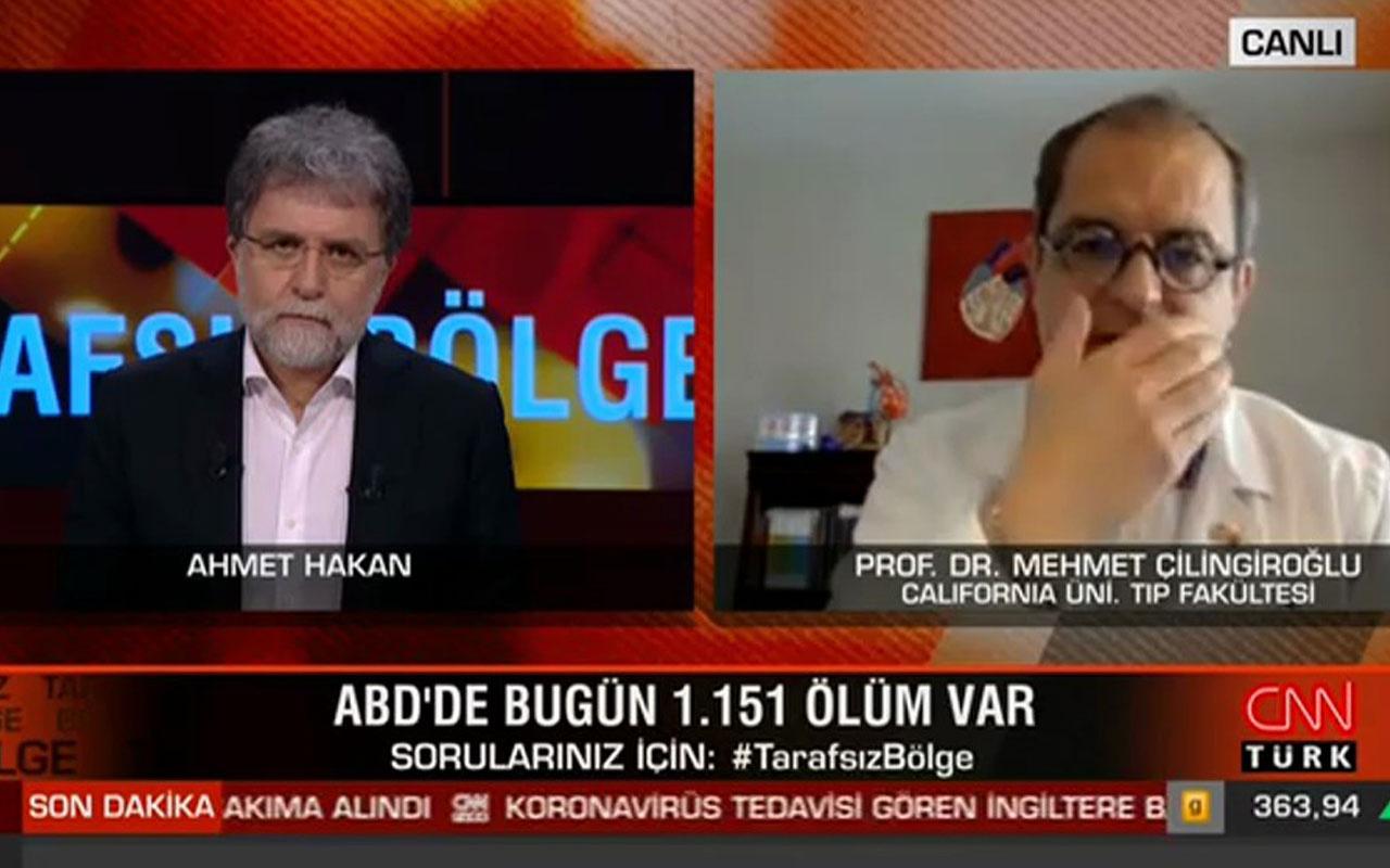 CNN Türk Ahmet Hakan'ın programında Mehmet Çilingiroğlu'ndan Trump'a hakaret