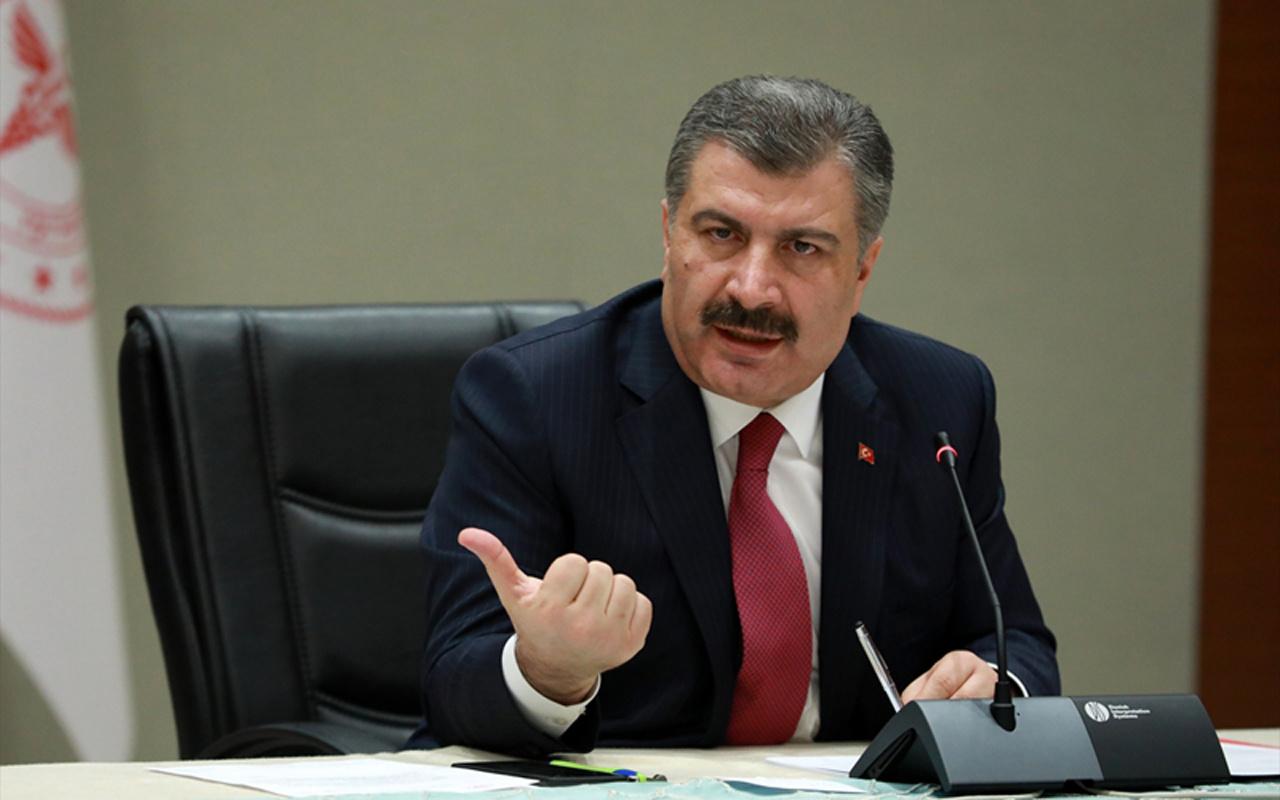 Sağlık Bakanı Fahrettin Koca yeni vaka sayılarını açıkladı