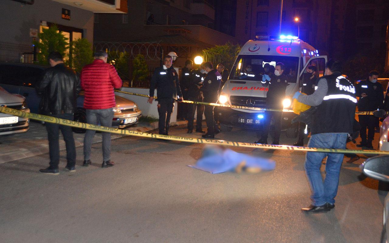 Adana'da genç adam 9'uncu kattan atlayarak intihar etti