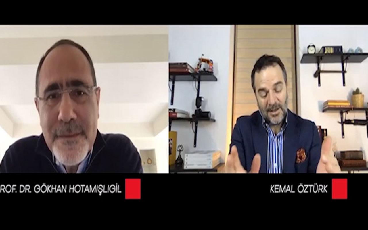 Kemal Öztürk'e konuk olan Gökhan Hotamışlıgil'dan koronavirüs açıklaması