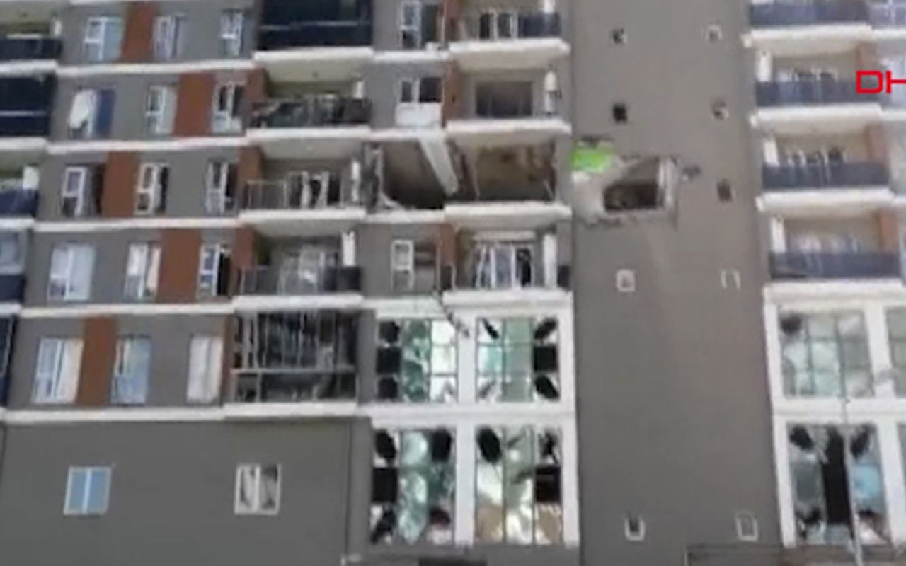 İstanbul Esenyurt'ta apartmanda doğalgaz patlaması!