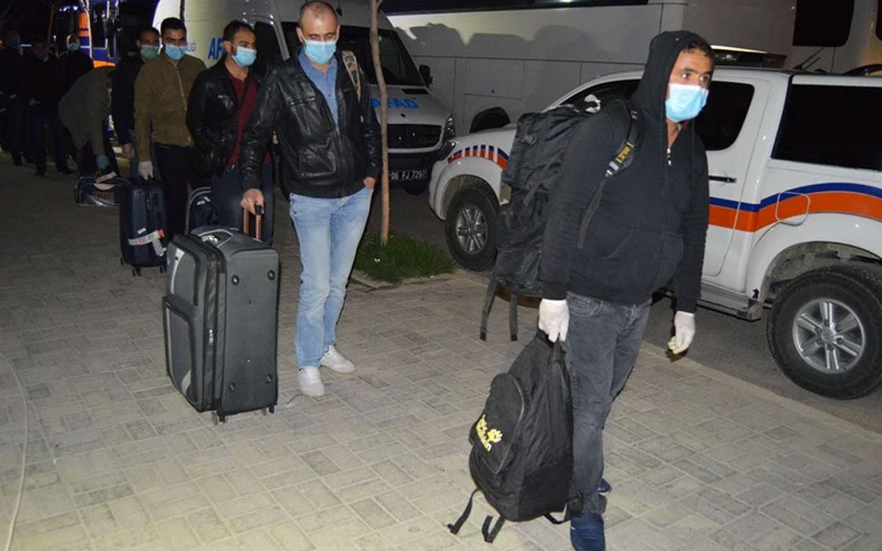 Irak'tan gelen 511 Türk vatandaşı KYK yurduna yerleştirildi