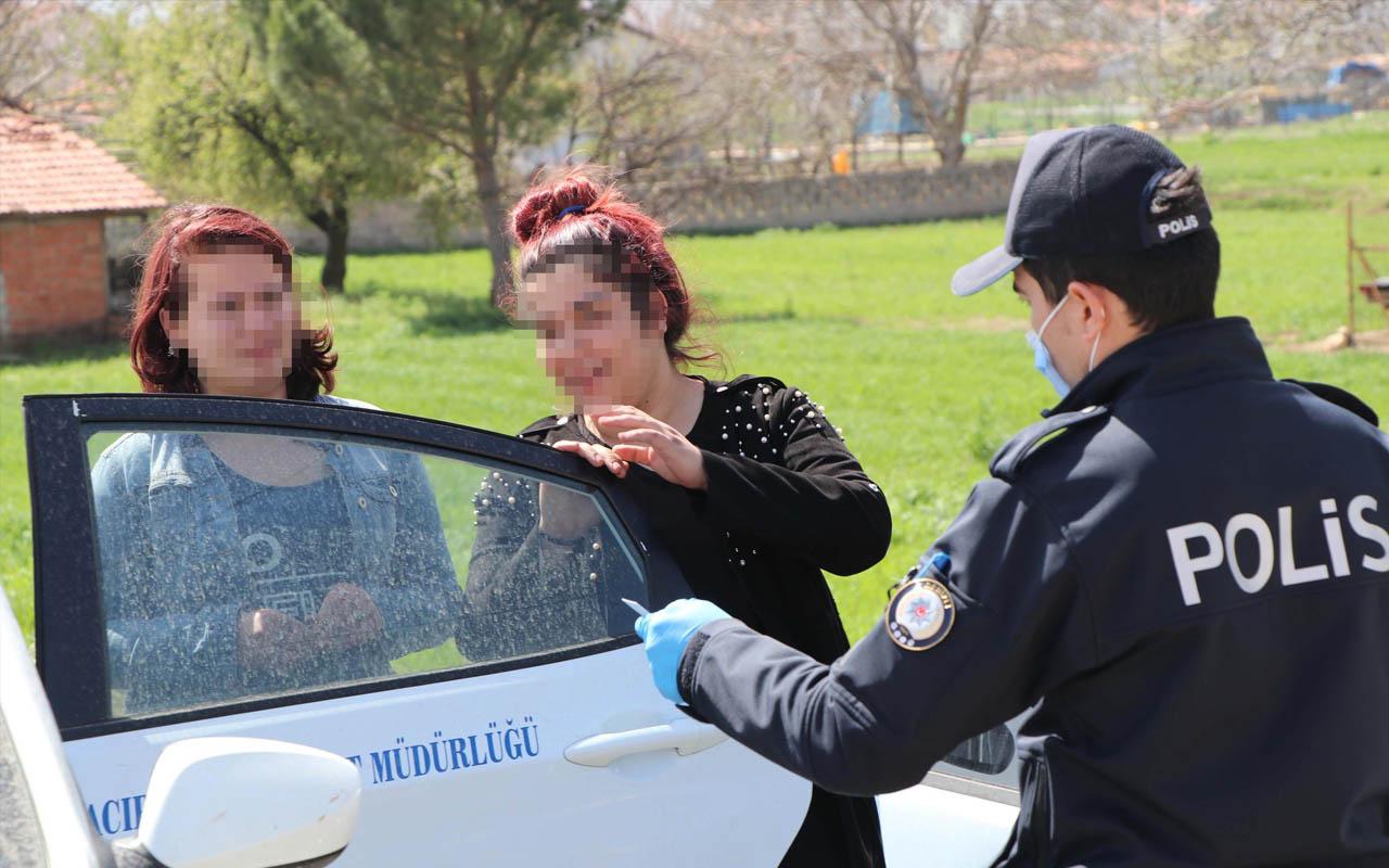 Denizli'de 17 yaşında sokağa çıktı 'İsterseniz ceza yazın, dedem sağlam' dedi