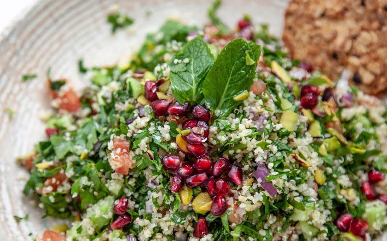 Tabule salatası tarifi Lübnan mutfağının gözde lezzeti!