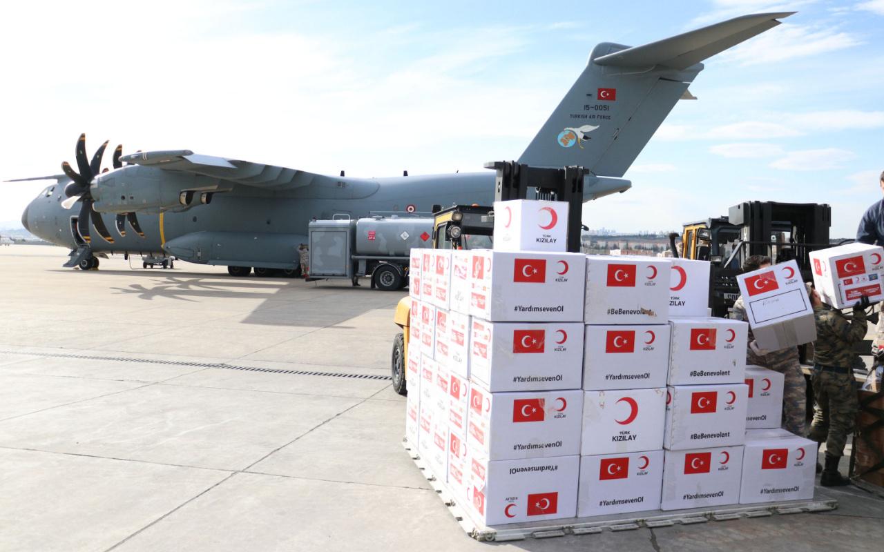 Erdoğan talimat verdi 5 ülkeye yardım malzemesi gidiyor