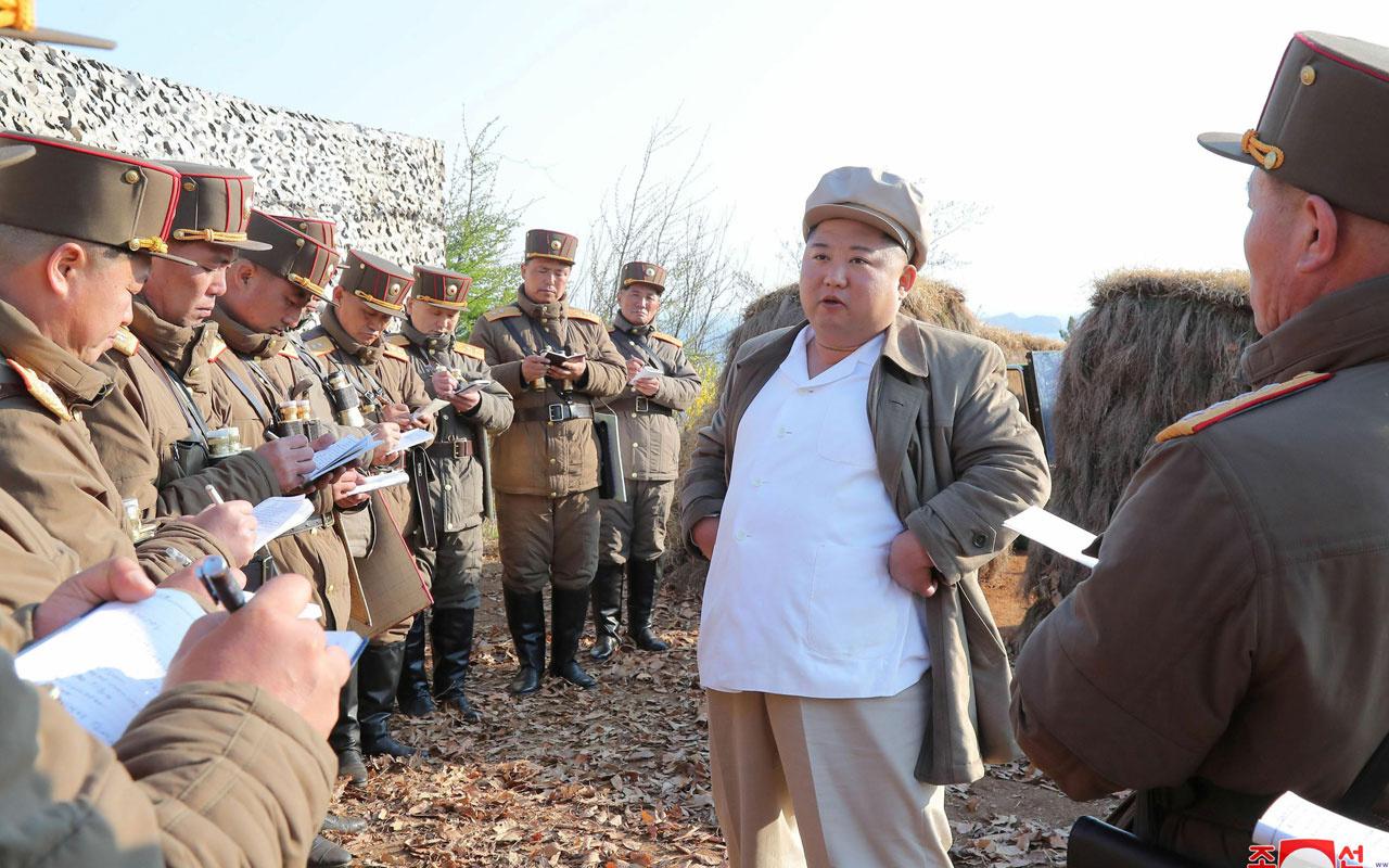 Dünya koronavirüsten kırılırken Kuzey Kore lideri Kim'in yaptığı şeye bak!