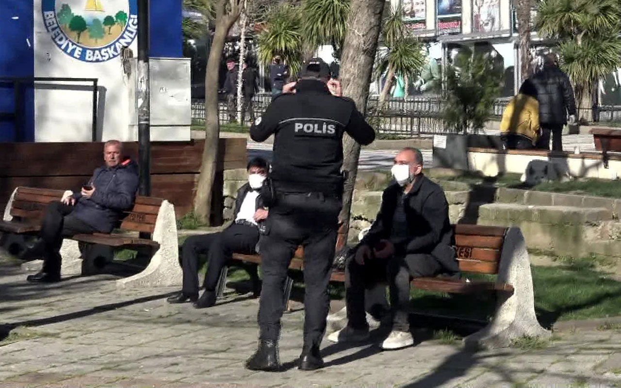 Avcılar'da tepki çeken görüntüler polisin uyarıları fayda etmedi