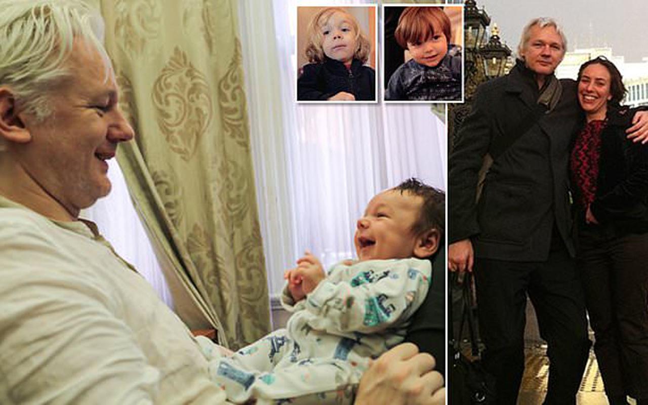 Wikileaks'in kurucusu Assange Ekvator Büyükelçiliği'nde saklanırken 2 çocuk yapmış!