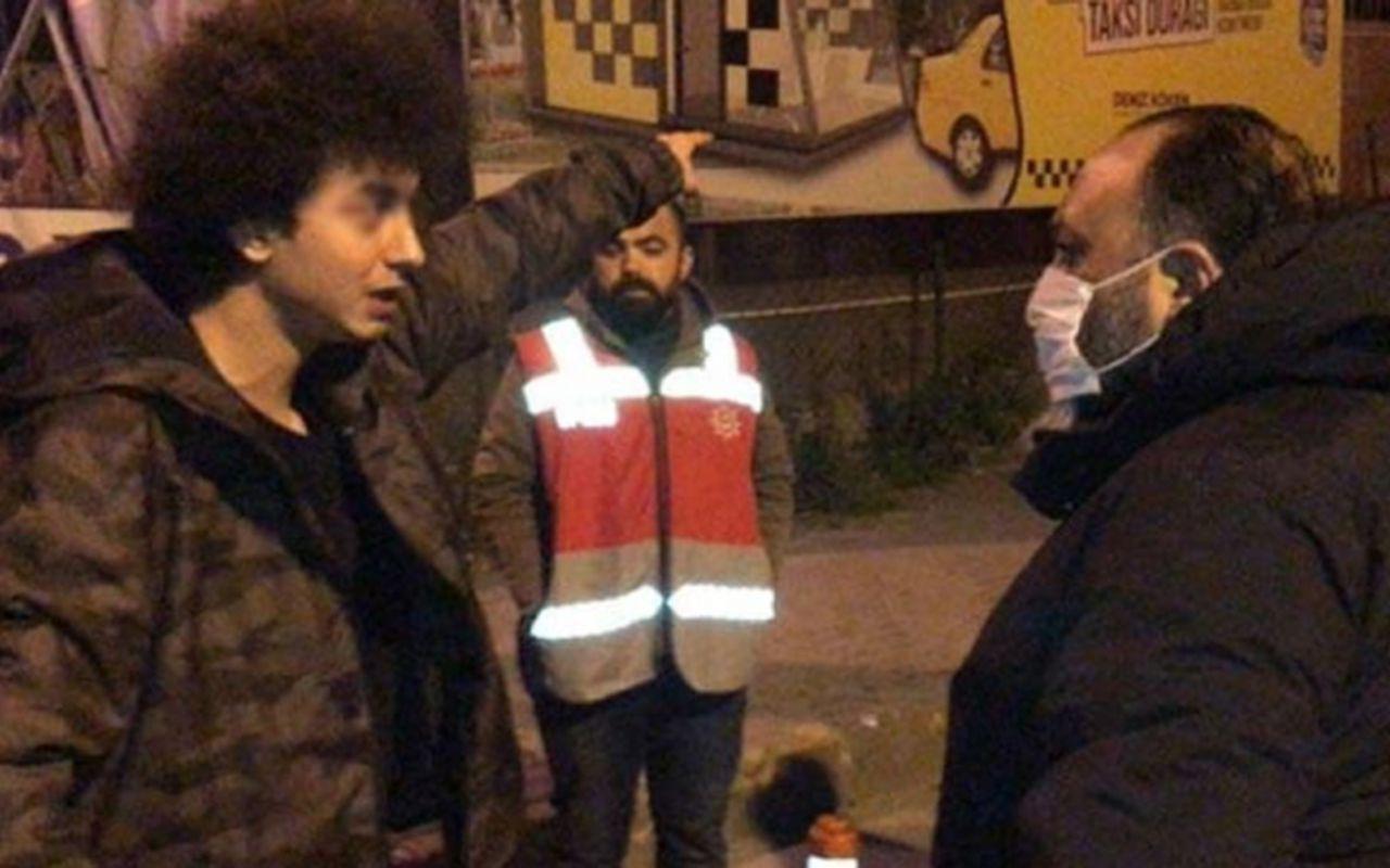 Alibeyköy'de sokağa çıkma yasağı cezası yiyen genç: Allah bana ceza veriyor