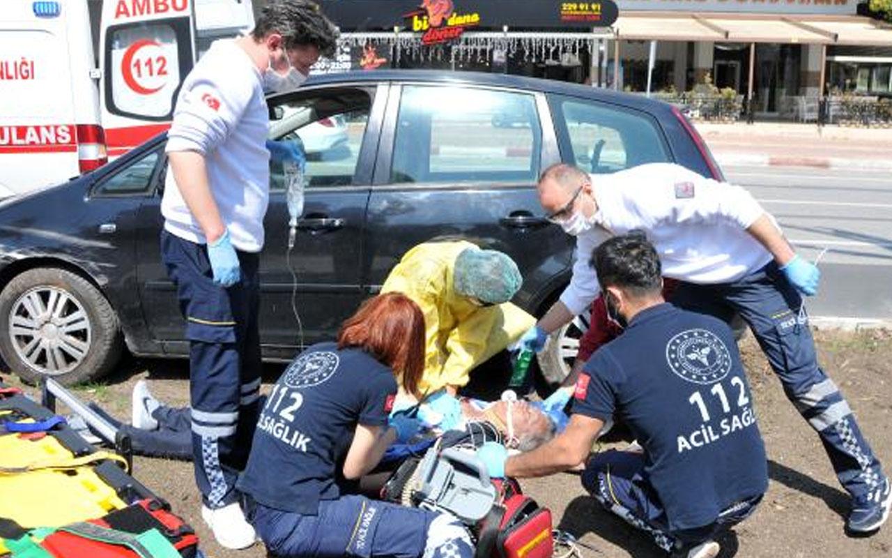 Antalya'da iki çocuk babası okul müdürü seyir halinde kalp krizi geçirip öldü