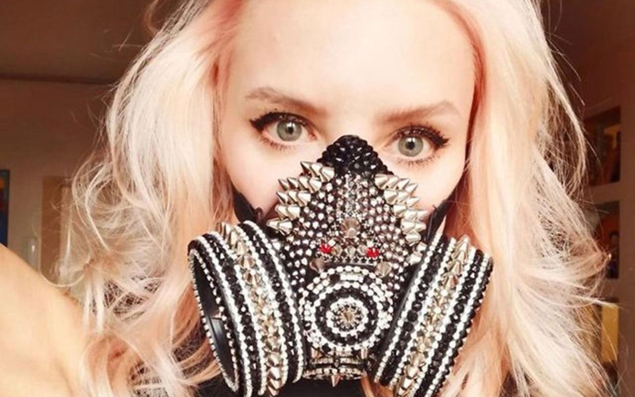 Koronavirüs günlerinin en sıra dışı maskeleri