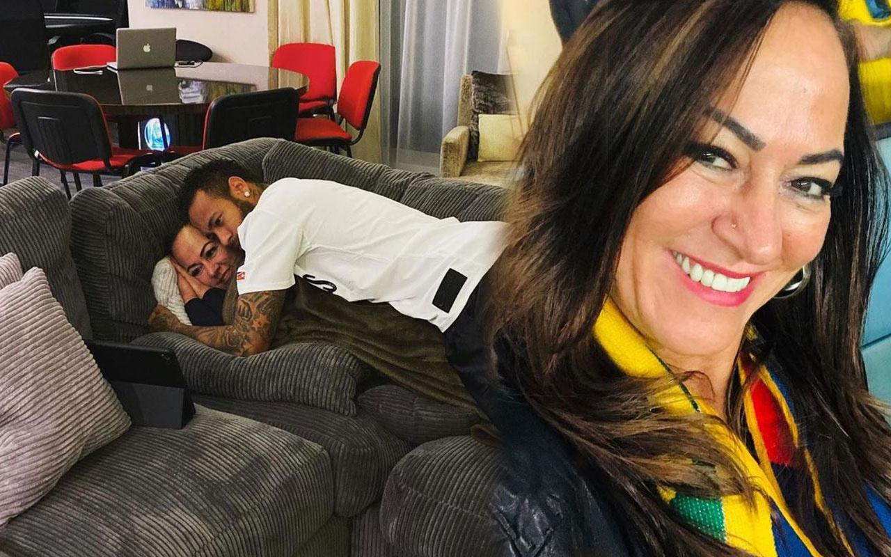 Futbolcu Neymar'ın annesi 22'lik gençle aşk yaşıyor oğlu onay verdi!