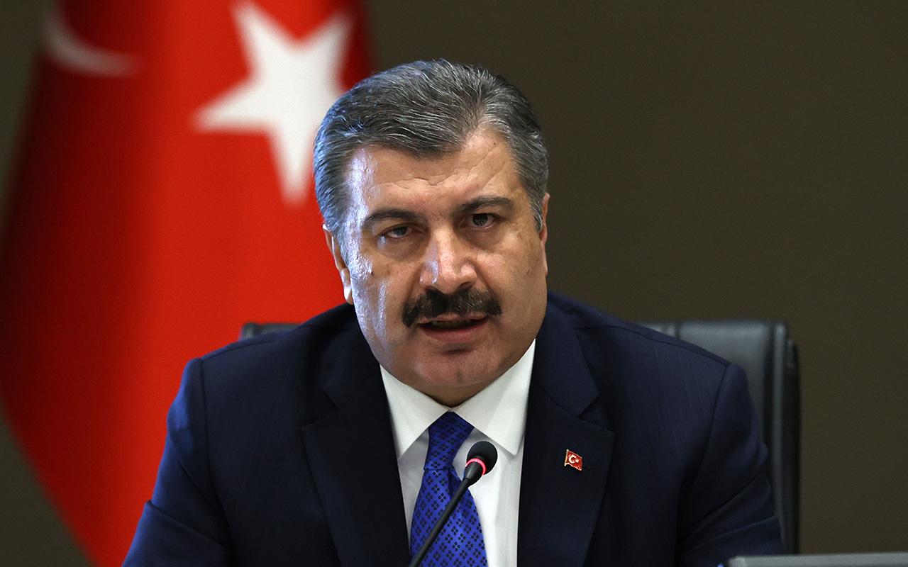 Sağlık Bakanı Fahrettin Koca Eminönü'nden fotoğraf göstererek uyardı! İyi değil