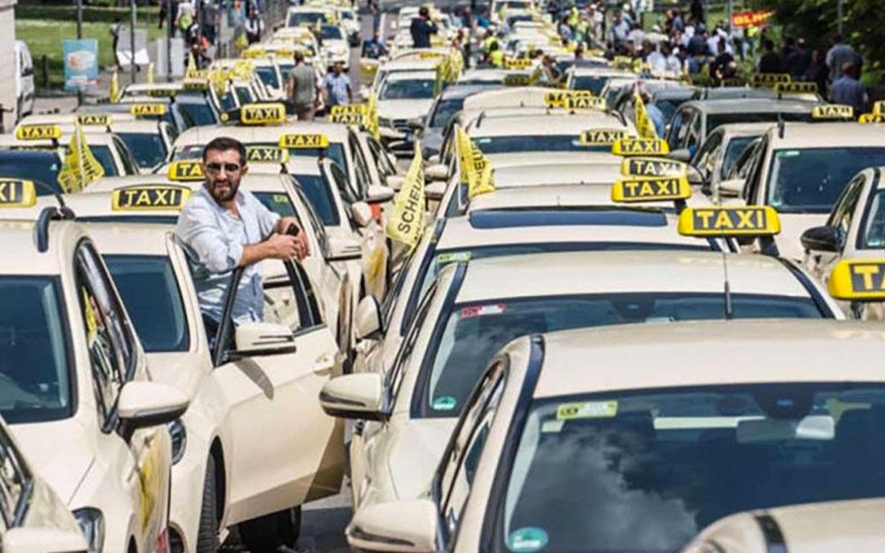 Almanya hükümetinden taksicilere dev yardım! 74 bin TL'yi bulacak