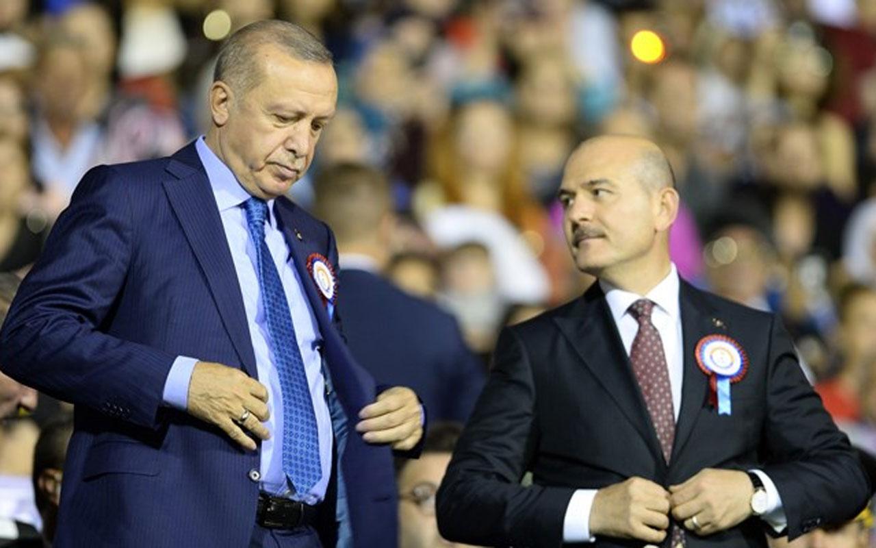İstifa krizi bakın nasıl çözüme kavuştu! Erdoğan'ın tek sözü Soylu'yu vazgeçirdi