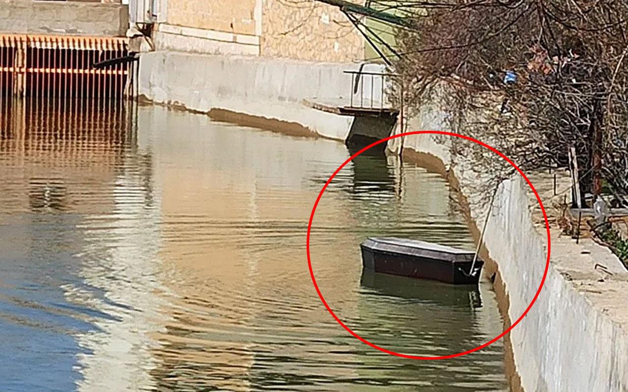 Çoruh Nehri'nde yüzen tabutlar şehri ayağa kaldırdı! Gören gözlerine inanamadı
