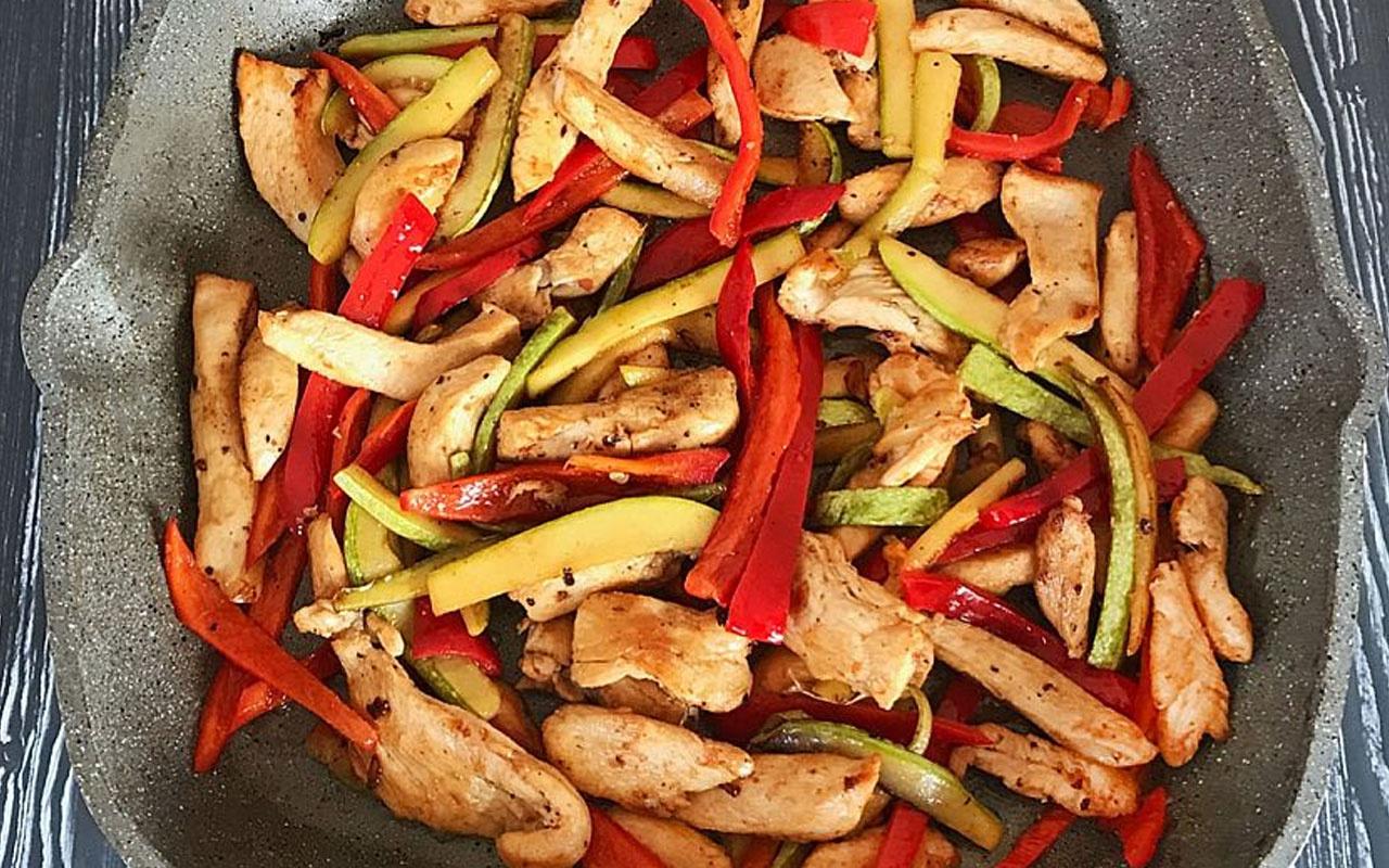 Sebzeli bahar tavuğu tarifi baharı sofranıza getirin!