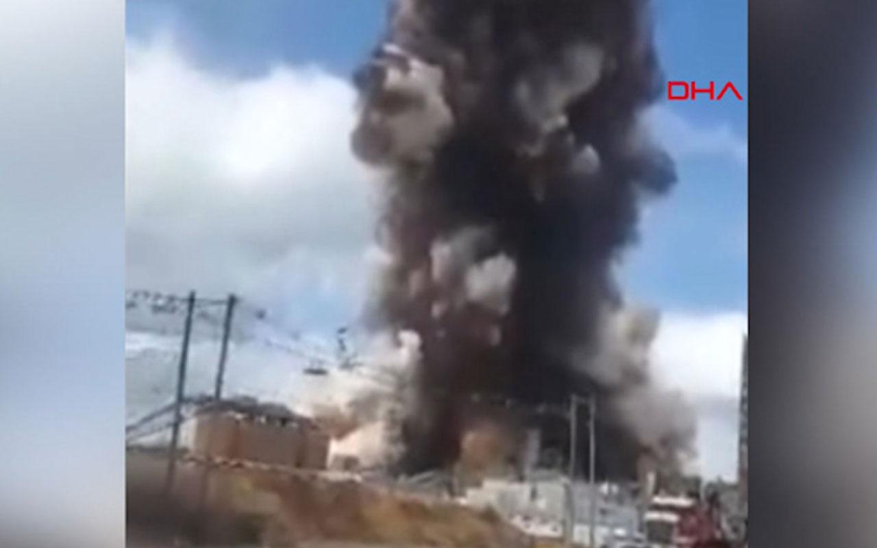 ABD'de kağıt fabrikasında patlama meydana geldi