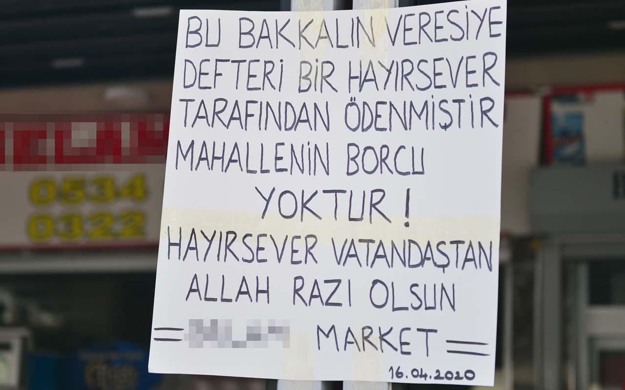 Adana'da 7 bin liralık veresiye borcu ödeyen Robin Hood kameraya yansıdı