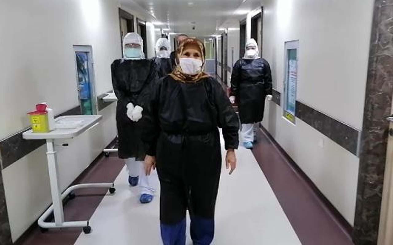 Kırklareli'nde 82 yaşında koronavirüsü yendi yaşadığı belirtileri anlattı