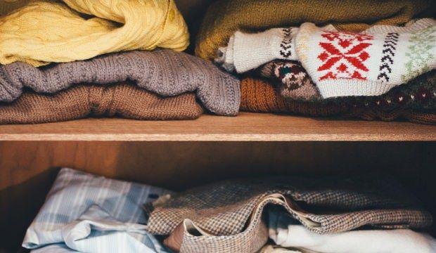 Kışlık giysilerinizi kaldırmanızı kolaylaştıracak tavsiyeler