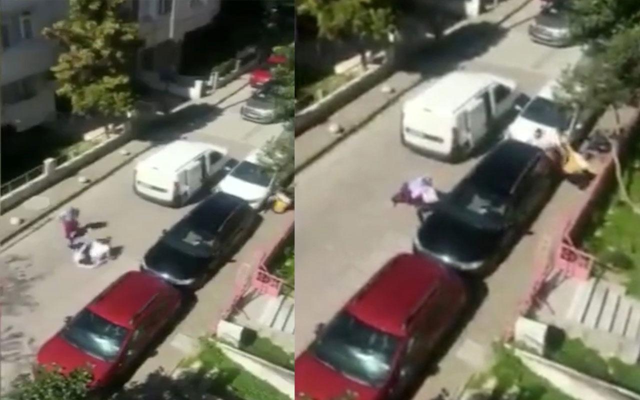 İstanbul Avcılar'da fırıncıların sokakta ekmek satma kavgasına tutuştular!