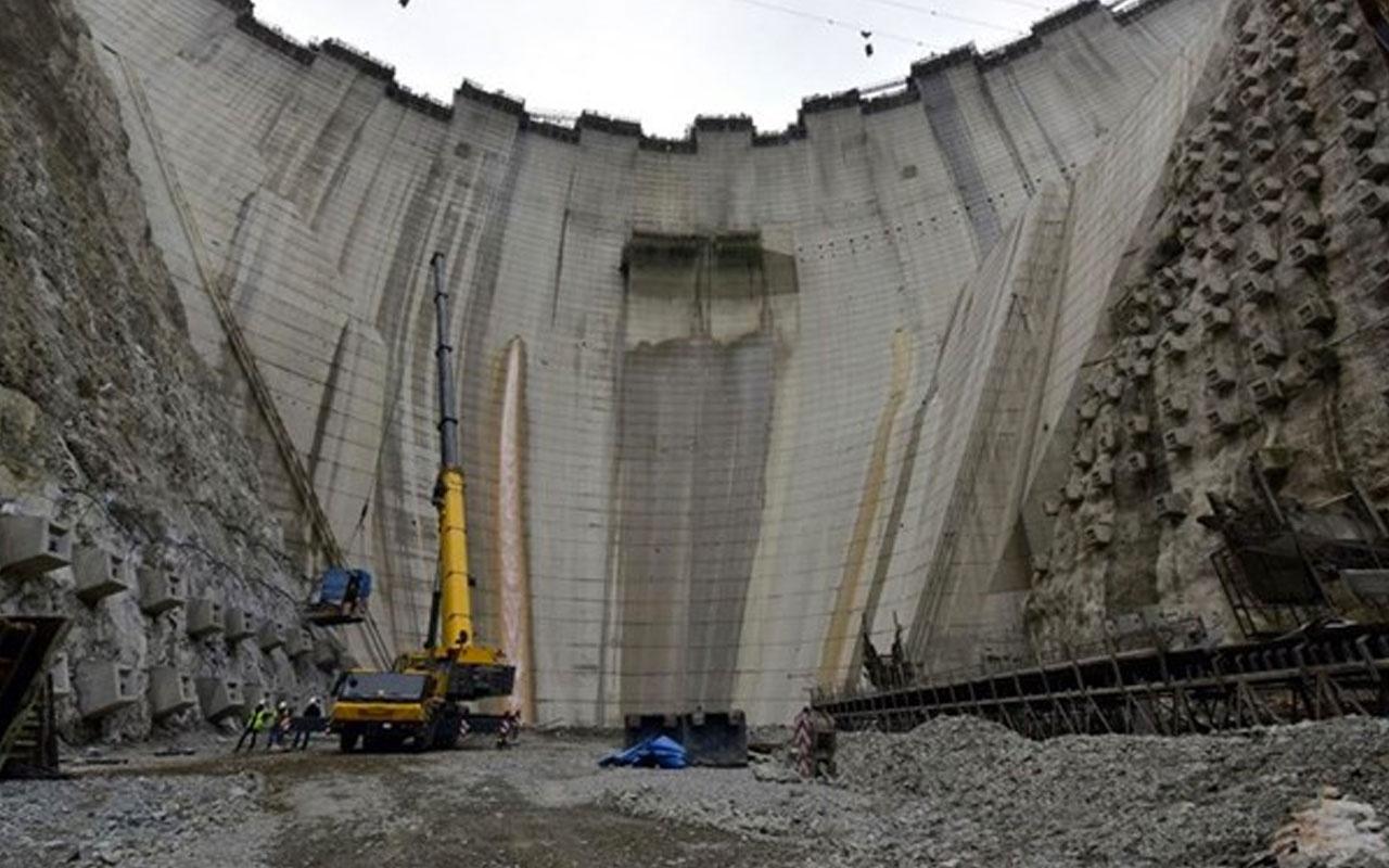Bakan Pakdemirli: Yusufeli Barajı'nda yükseklik 200 metreye ulaştı