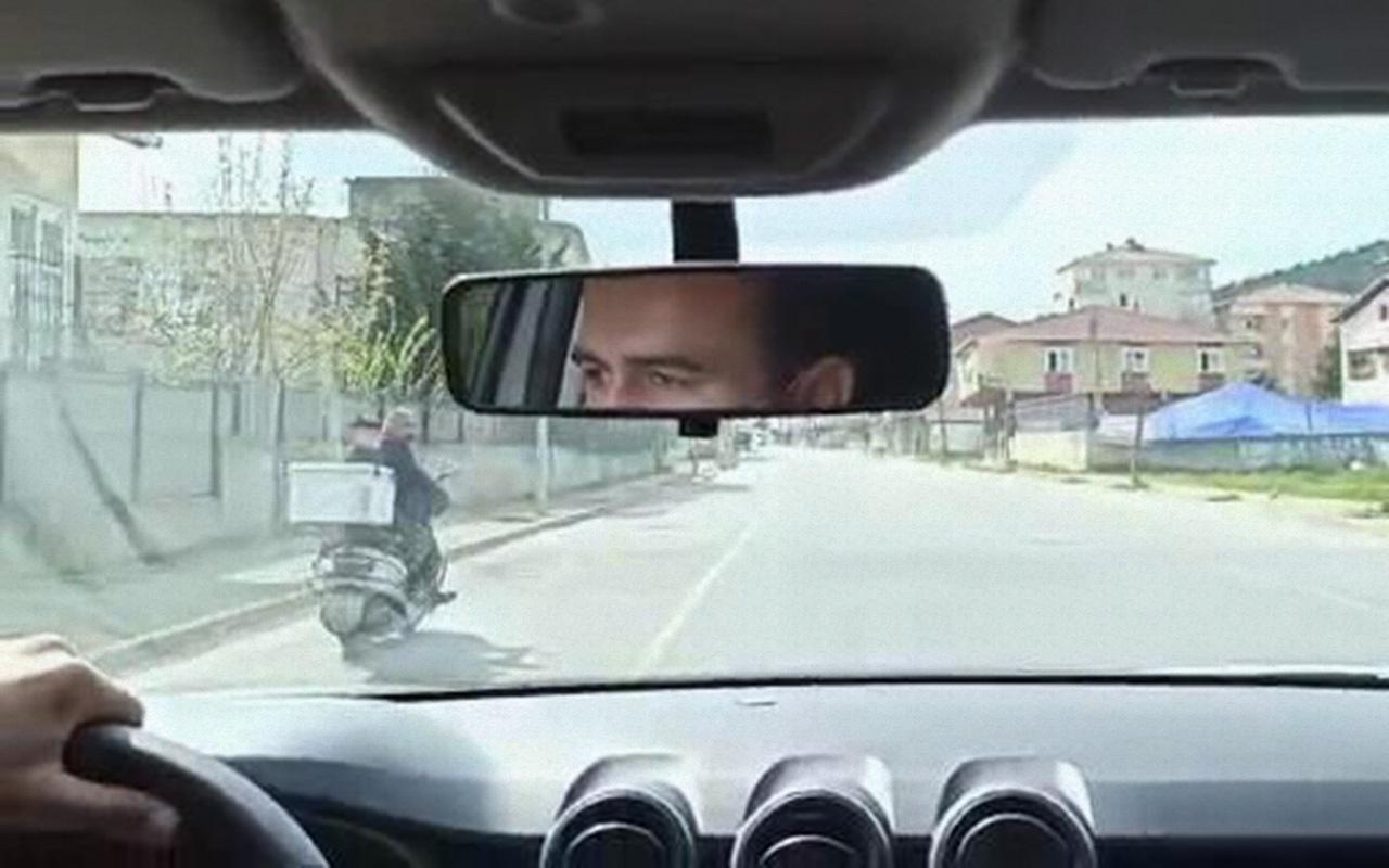 İstanbul Sultanbeyli'de yasağa uymayan motosikletli ile polis arasında kovalamaca