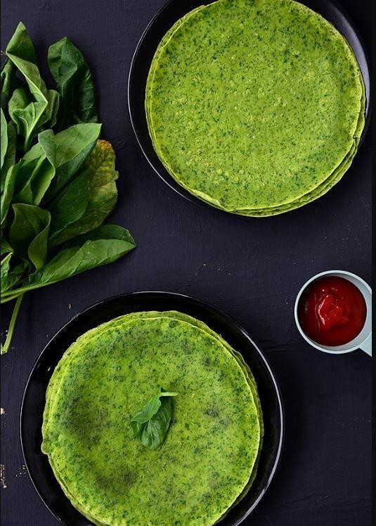 Yeşil krep nasıl yapılır enfes tat!