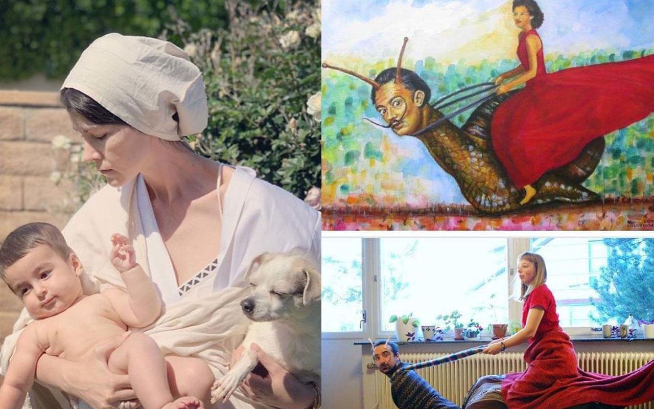 Karantina altında müthiş yaratıcılık işte sanatsal meydan okuma!