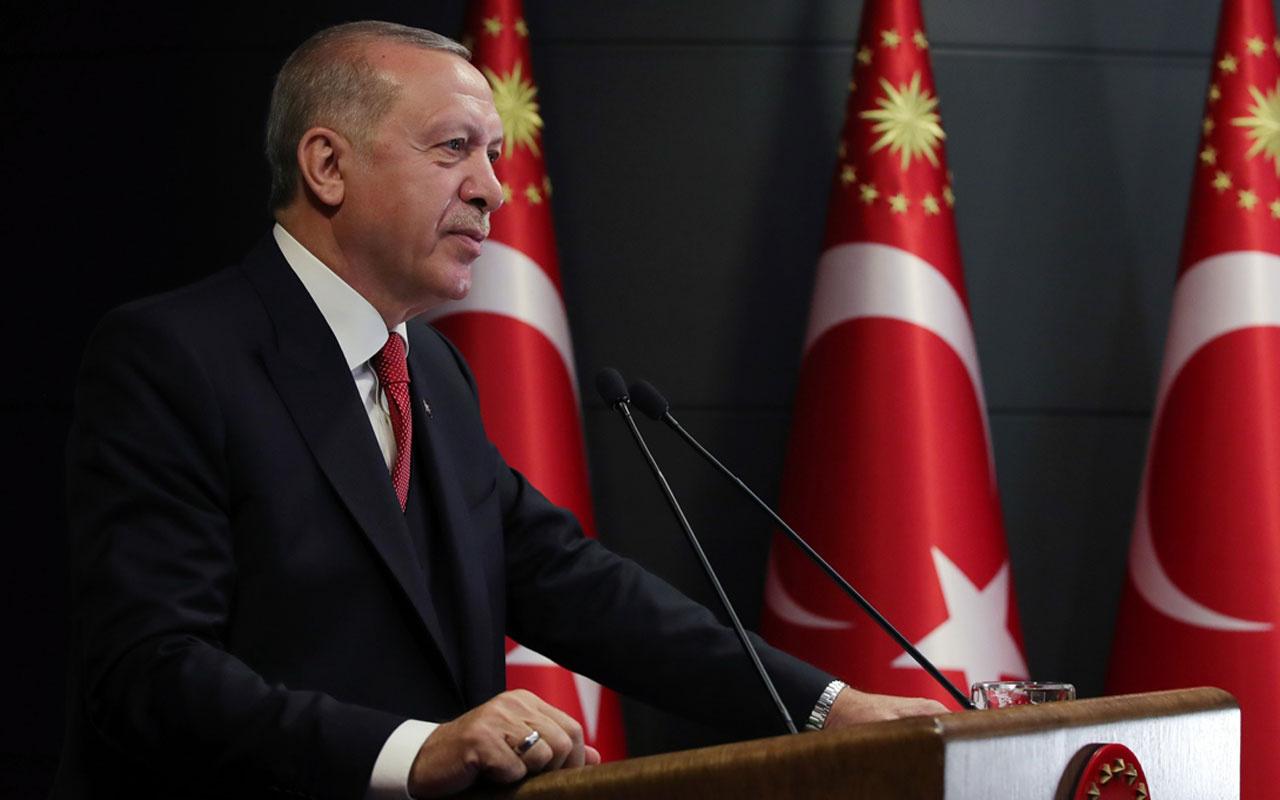 Erdoğan'dan koronavirüs mesajı! Salgını yatay seyre geçirmeye başladık