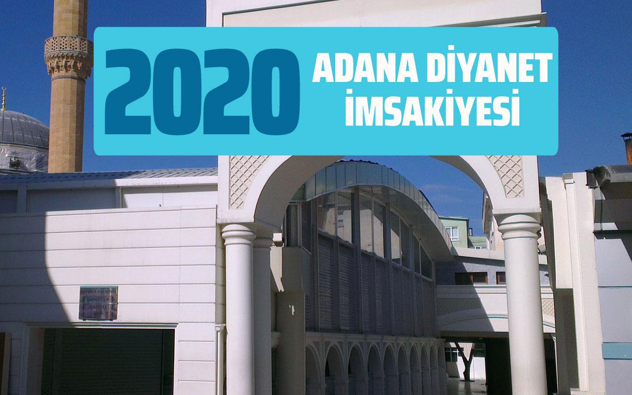 Adıyaman İmsakiye 2020 Diyanet Adıyaman imsak sahur iftar vakti