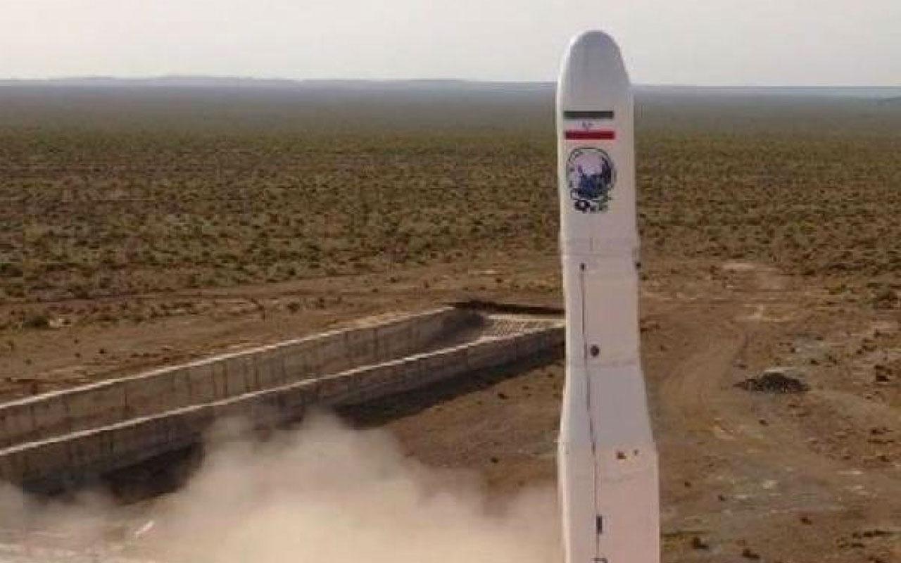 İran ilk askeri uydusunu uzaya fırlattı bu kez başarılı oldu