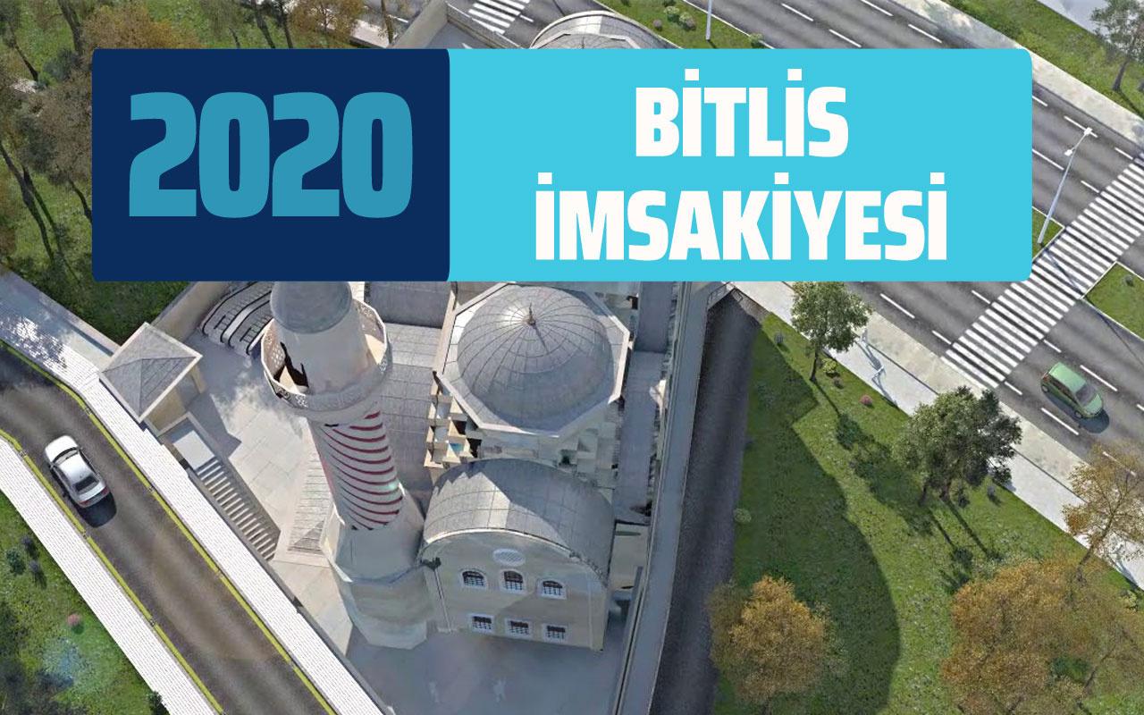 Bitlis imsak vakti sahur saatleri açıklandı! Bitlis Ramazan İmsakiyesi 2020