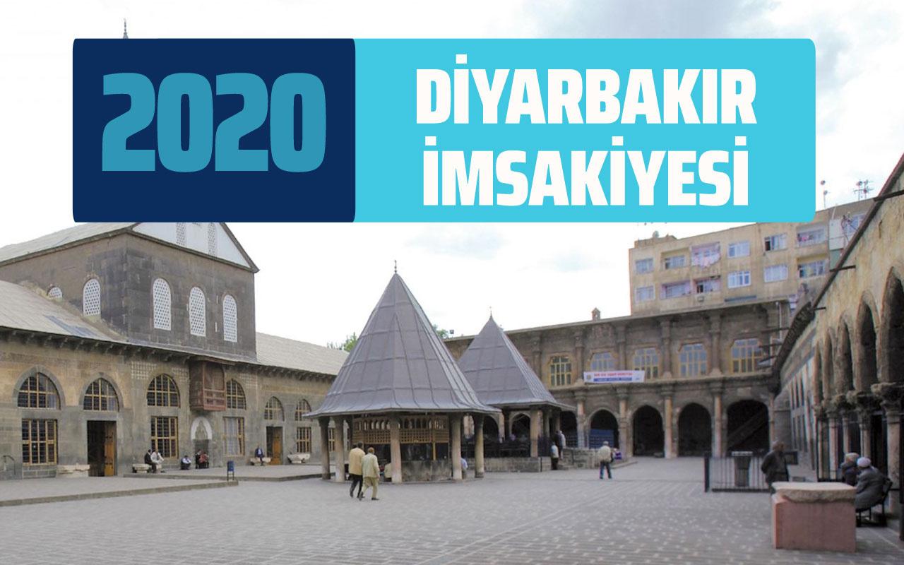 Diyarbakır imsak sahur vakti! Diyarbakır İmsakiye 2020 Ramazan takvimi