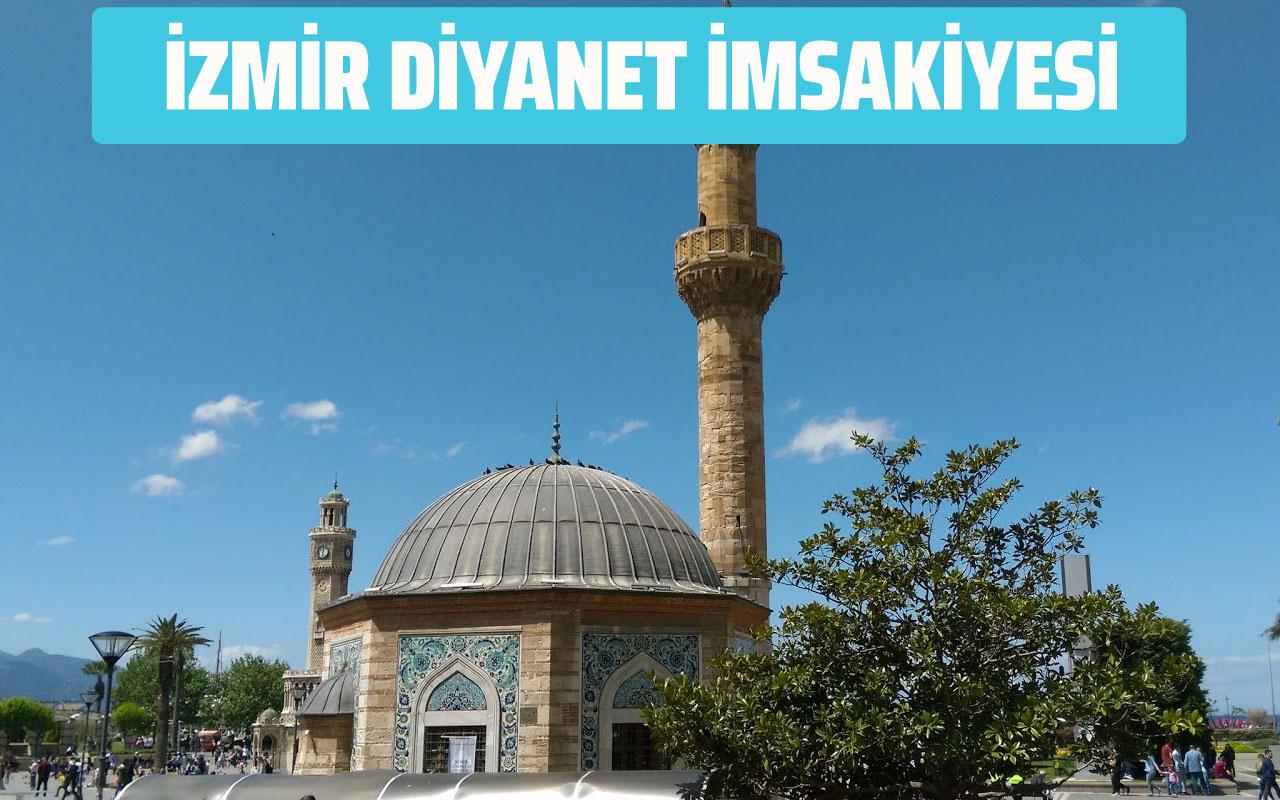 İzmir Diyanet İmsakiyesi 2020 sahur vakti! İzmir iftar saatleri imsak