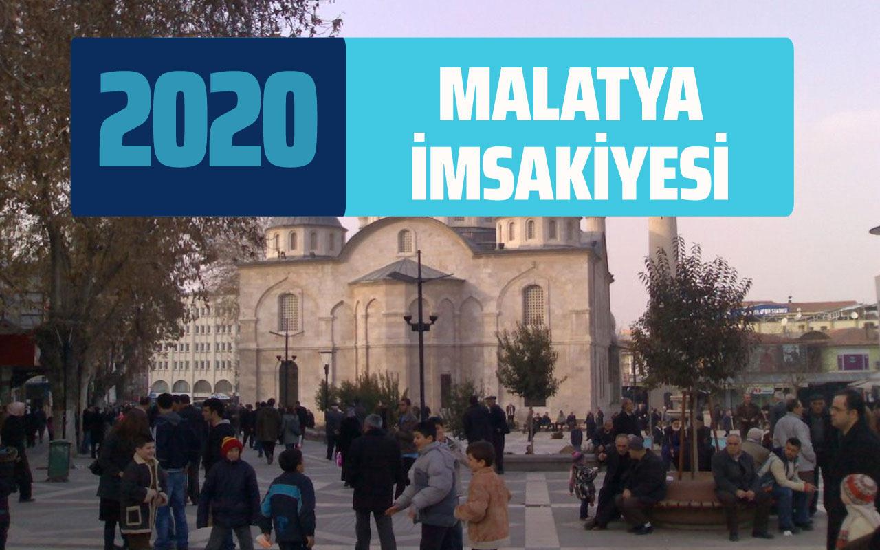 Malatya imsak vakti sahur saati! Malatya İmsakiye 2020 iftar saatleri