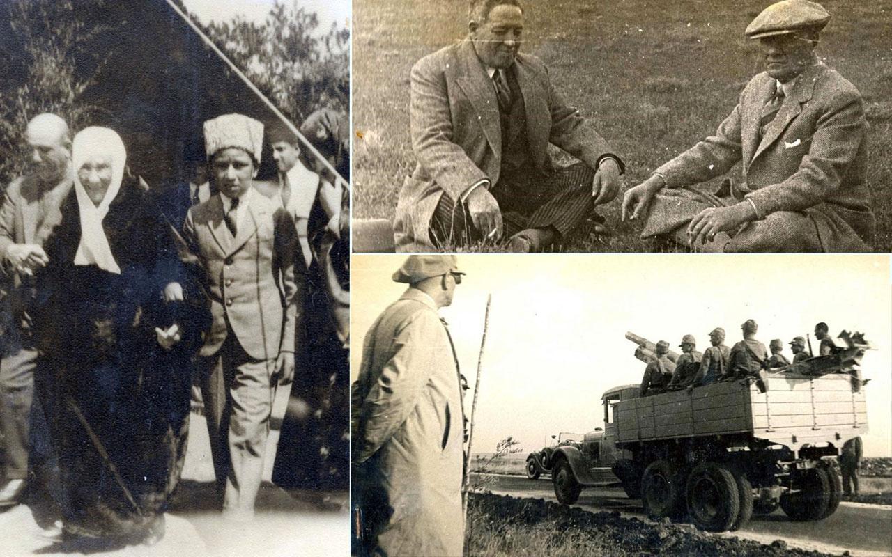 Atatürk'ün arşivlerden çıkan son fotoğrafları AYK 23 Nisan'a özel yayınlandı
