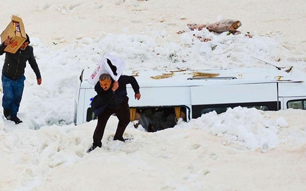 Van'da çığ altında kalan minibüse 3 ay sonra ulaşıldı