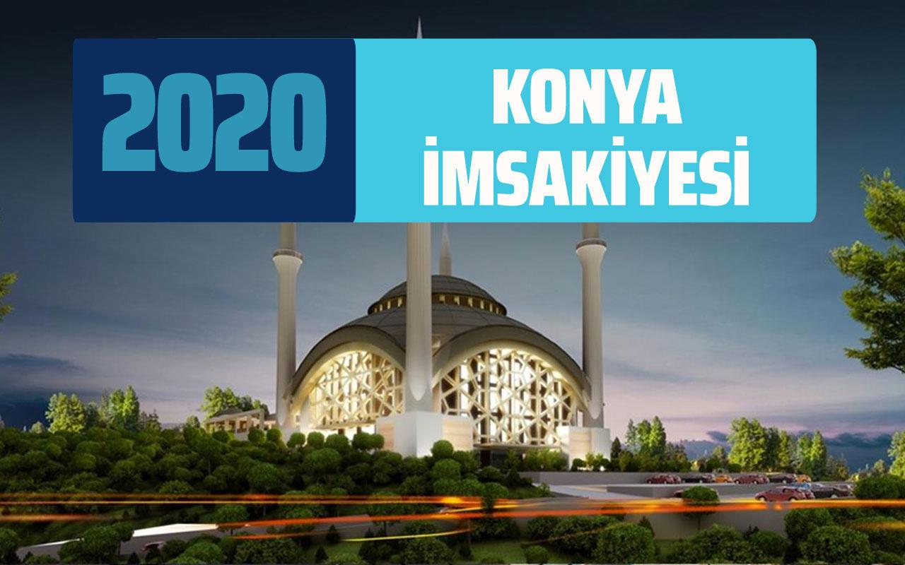 Konya sahur imsak vakti 2020 Konya İmsakiyesi iftar saatleri