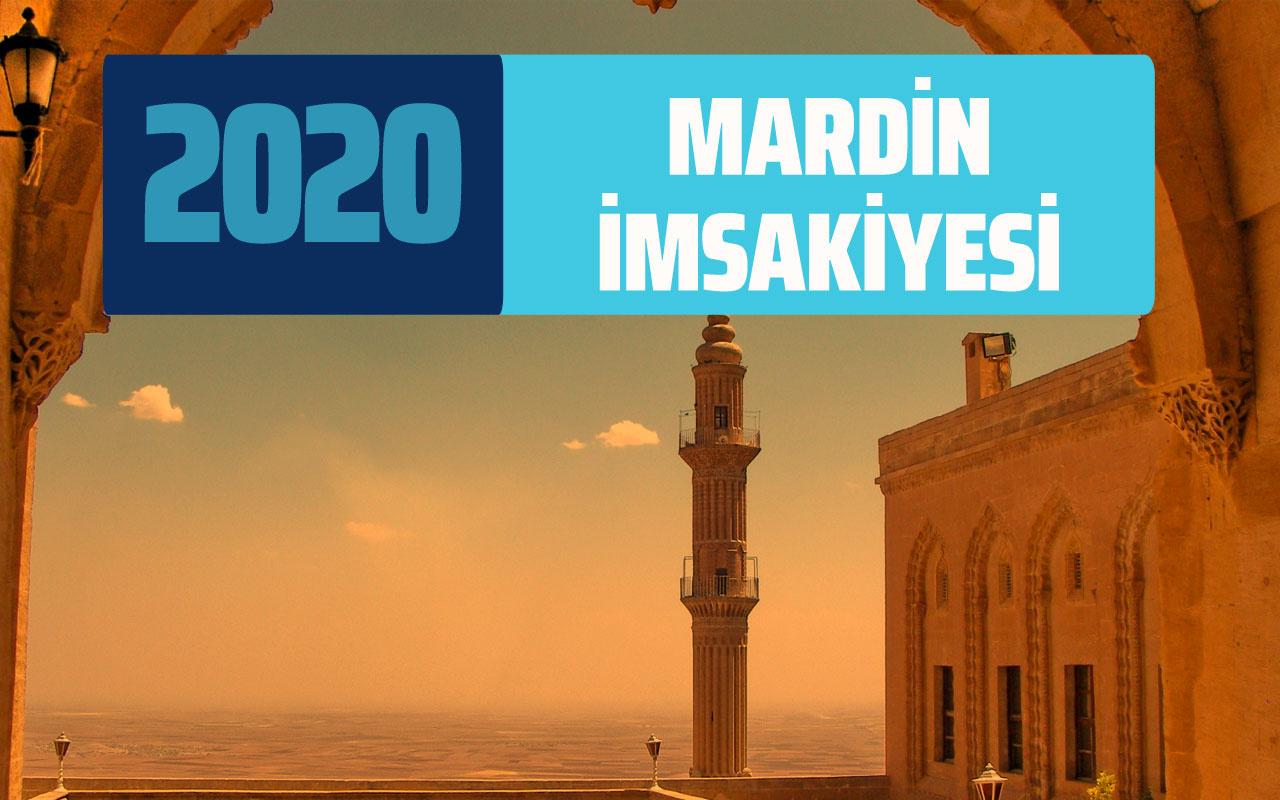 Mardin imsakiye 2020 sahur vakti Mardin imsak ve iftar saatleri