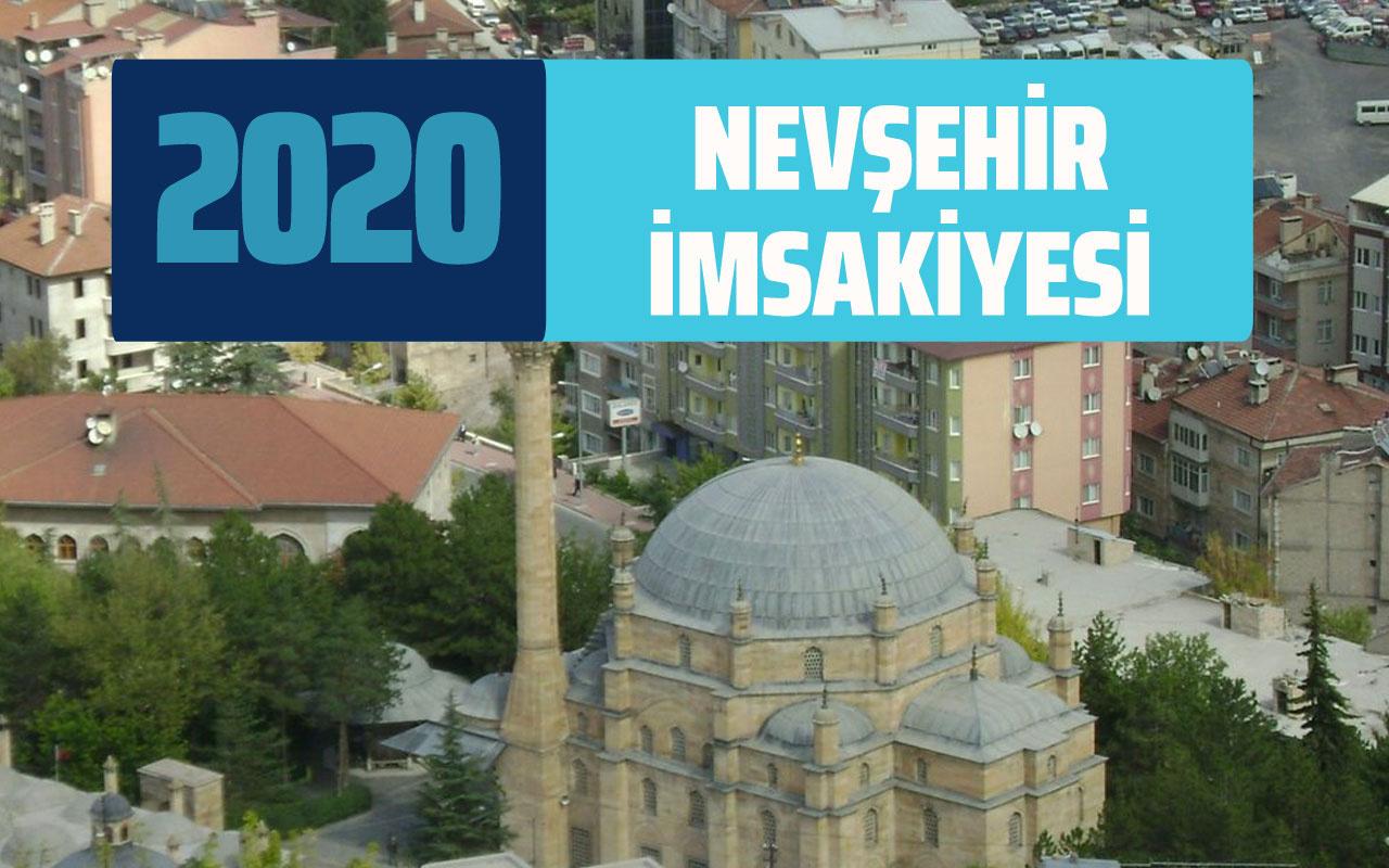 Nevşehir imsakiyesi 2020 Nevşehir sahur vakti imsak iftar saati