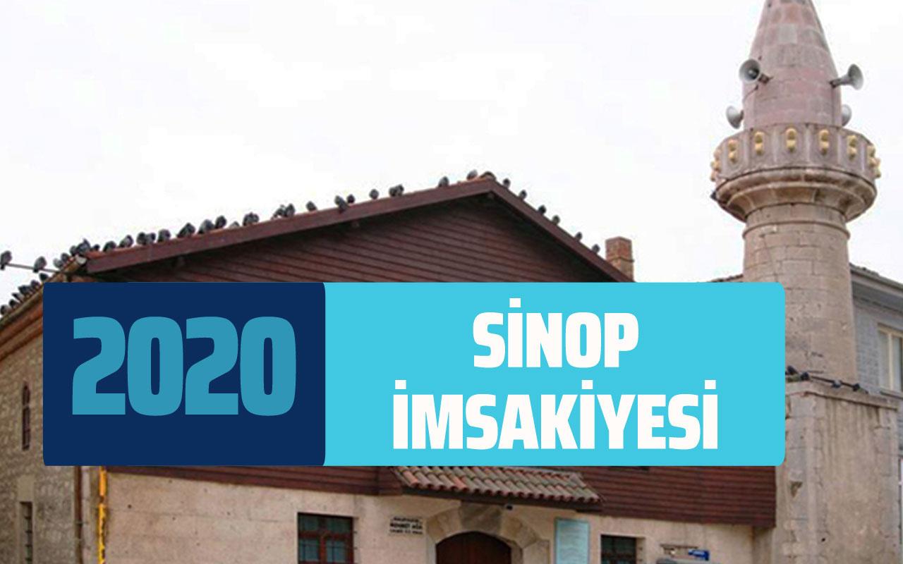Sinop imsakiye 2020 sahur vakti! Sinop imsakiyesi iftar imsak saati