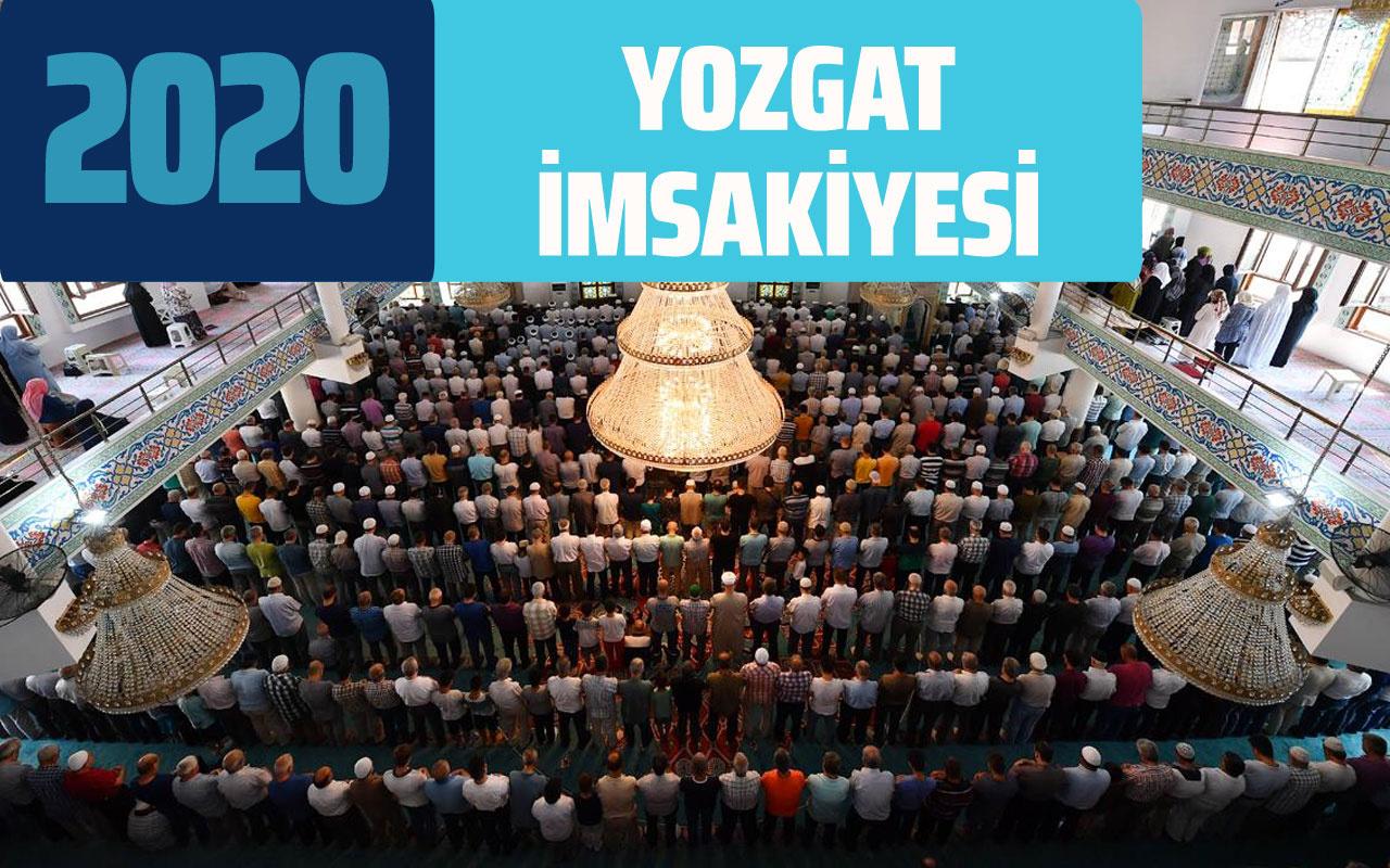 Yozgat imsakiye sahur vakti! Yozgat ramazan takvimi iftar imsak saatleri