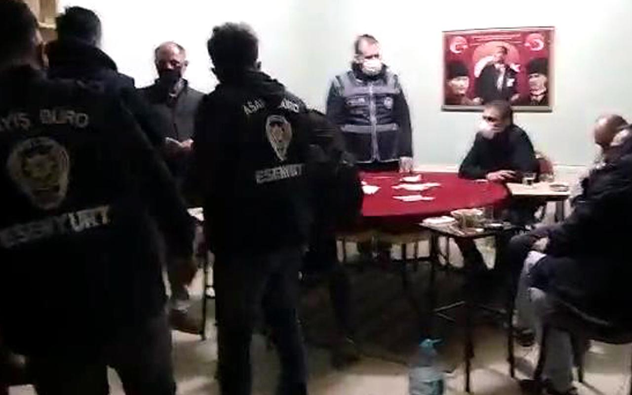 Esenyurt'ta polisin attığı ilginç adım kumar oynayanları ele verdi
