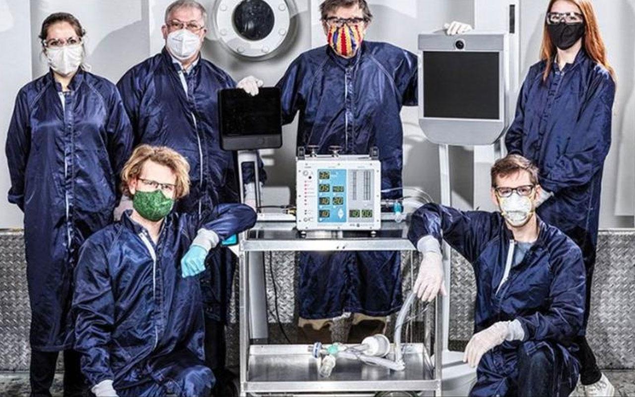 NASA koronavirüs salgını nedeniyle solunum cihazı üretti!