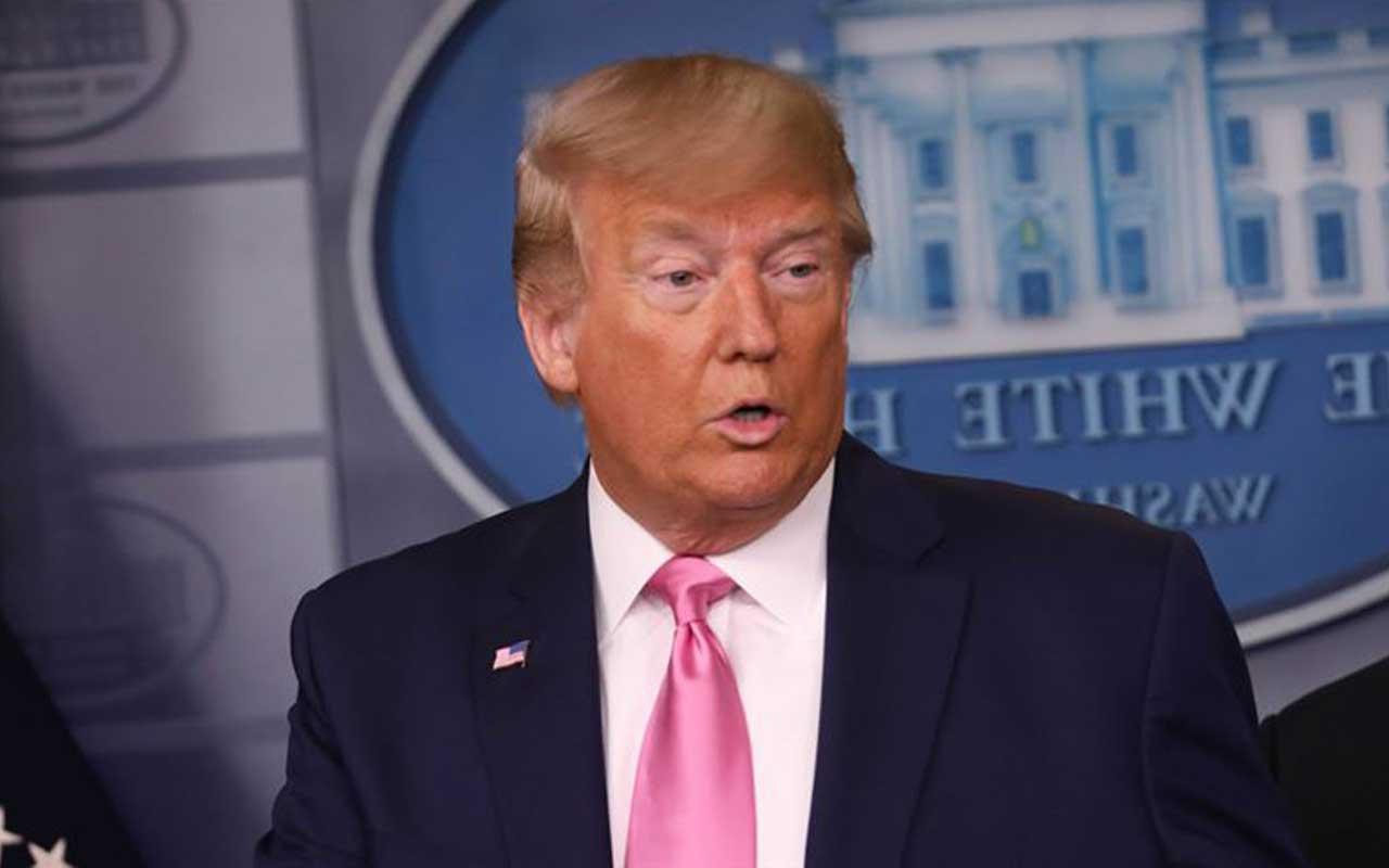 """ABD Başkanı Donald Trump'tan """"Kinaye yaptım"""" açıklaması"""