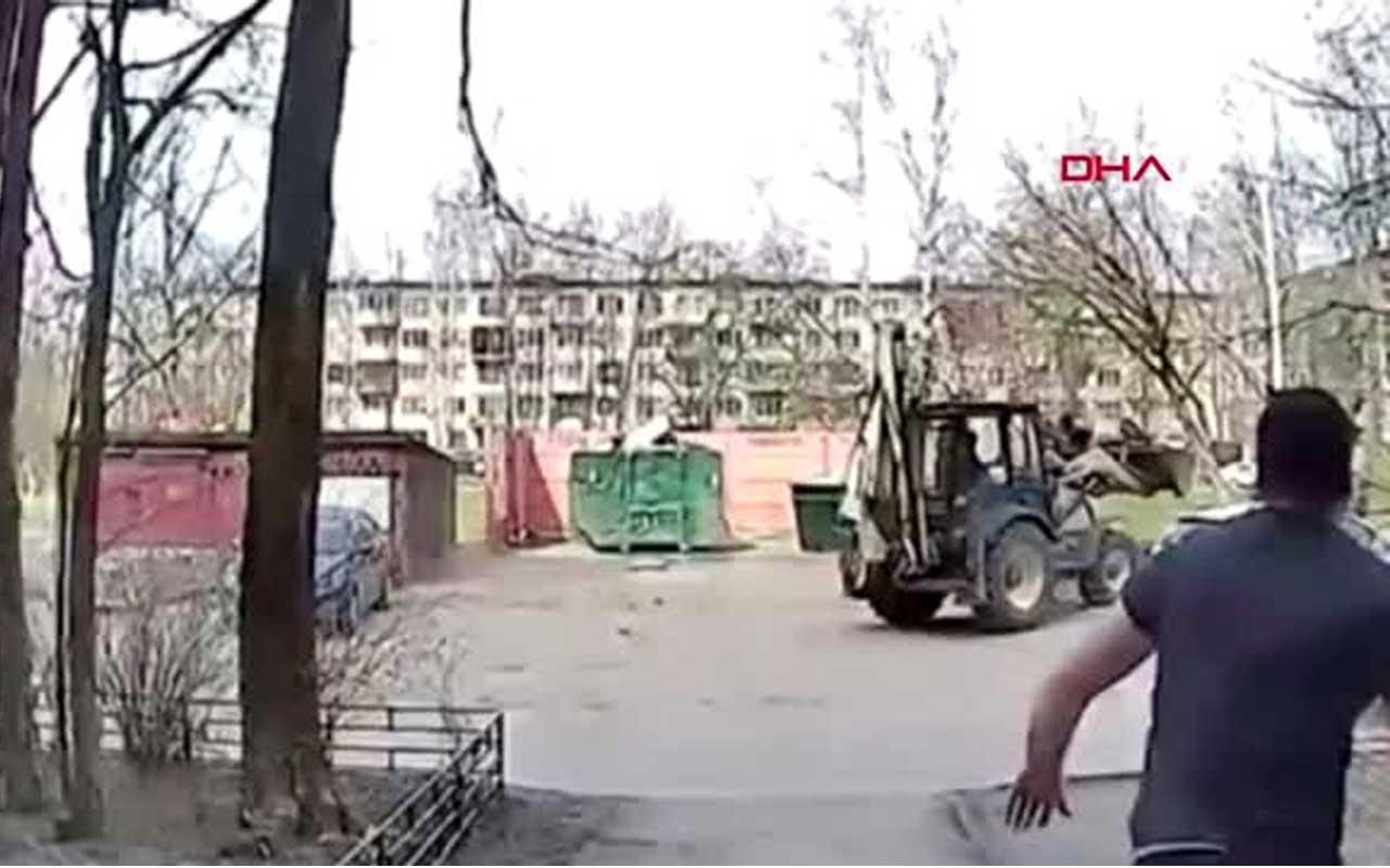 "Rusya'da ""kız kaçırma"" kamerada"
